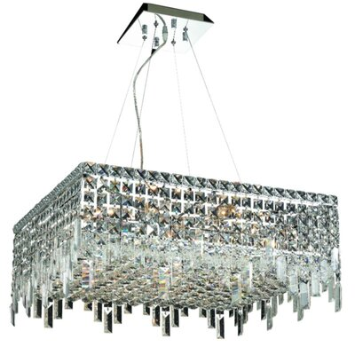 Bratton 12-Light Crystal Chandelier Size / Crystal Trim: 24 / Spectra Swarovski