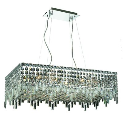 Bratton 16-Light Kitchen Island Pendant Size / Crystal Trim: 32 / Strass Swarovski