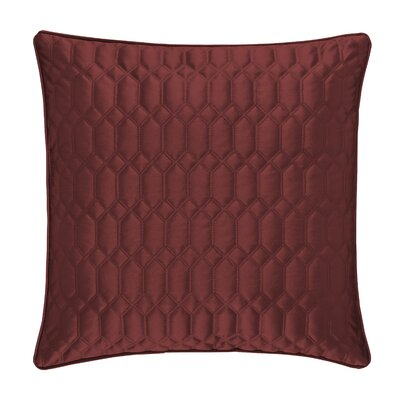 Onna Accent Throw Pillow Color: Cabernet