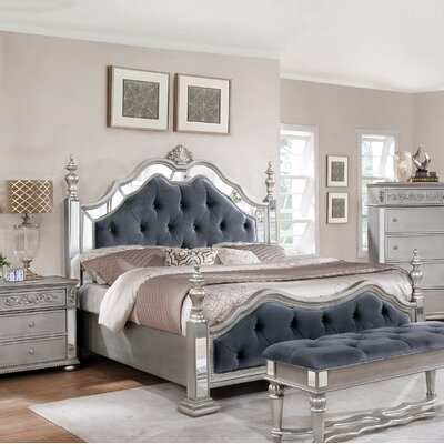 Kersey Panel Configurable 5 Piece Bedroom Set Bed Size: California King