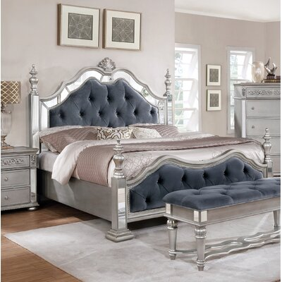 Kieran Panel Configurable 6 Piece Bedroom Set Bed Size: California King