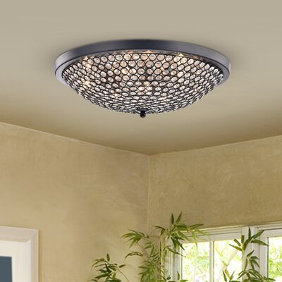 Brutus 9-Light Flush Mount