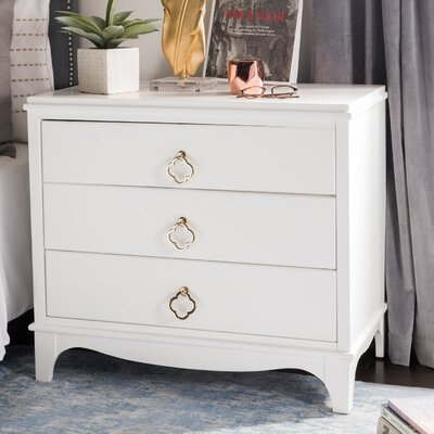 Blakely 3 Drawer Nightstand