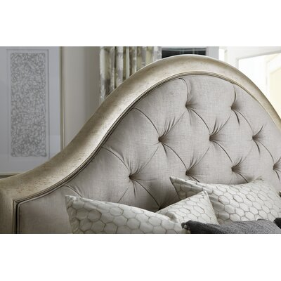 Stanmore Upholstered Panel Bed Size: California King