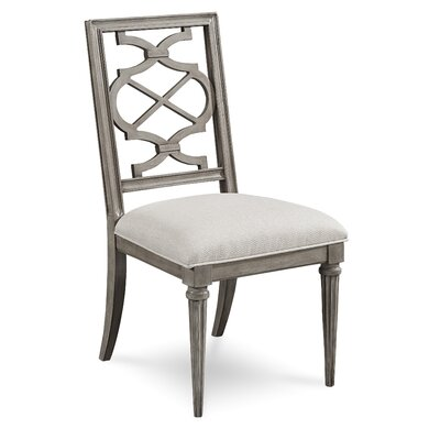 Delahunt Upholstered Dining Chair Finish: Sandstone