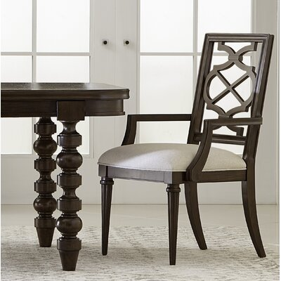 Delahunt Arm Chair (Set of 2) Finish: Coffee