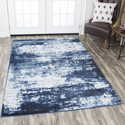 Archer Ivory Area Rug Rug Size: Rectangle 53 x 76