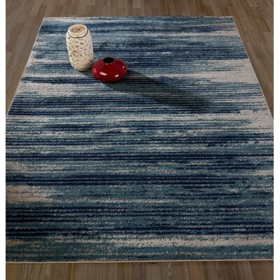 Rectangle Orlie Multi-Colored Area Rug Rug Size: Rectangle 710 x 910