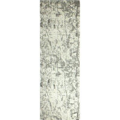 Fort llins Ivory Area Rug Rug Size: Runner 26 x 8
