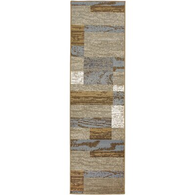 Audrey Superior on Beige Area Rug Rug Size: Runner 27 x 8