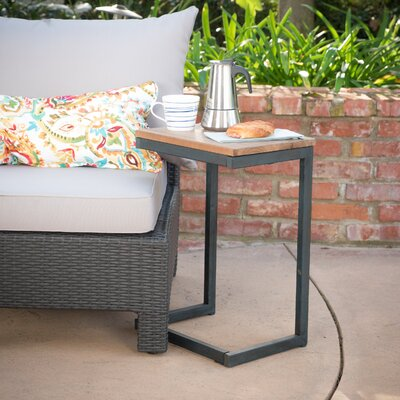 Rita Outdoor C Shaped Side Table