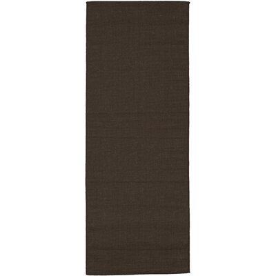 Summer Brown Indoor/Outdoor Area Rug Rug Size: Runner 27 x 7