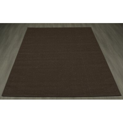 Summer Brown Indoor/Outdoor Area Rug Rug Size: 53 x 73
