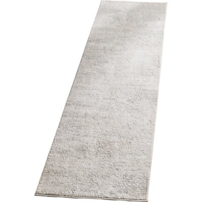 Conway Beige/Gray Area Rug Rug Size: Runner 2 x 8