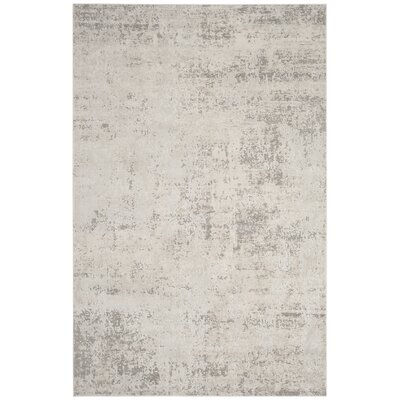 Conway Beige/Gray Area Rug Rug Size: Rectangle 51 x 76