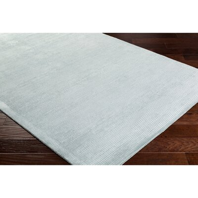Aurora Hand Woven White Area Rug Rug Size: Rectangle 8 x 10