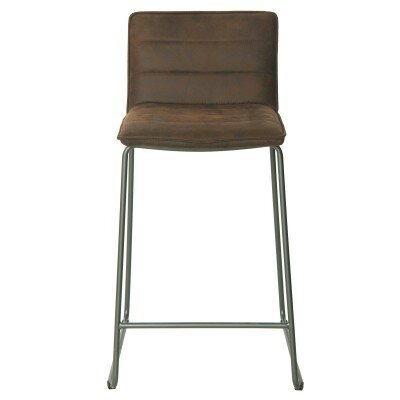 Polins 29 Bar Stool Upholstery: Antique Bistre Brown