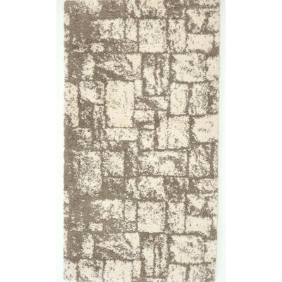 Nehemiah Patch Beige Area Rug Rug Size: Rectangle 27 x 411