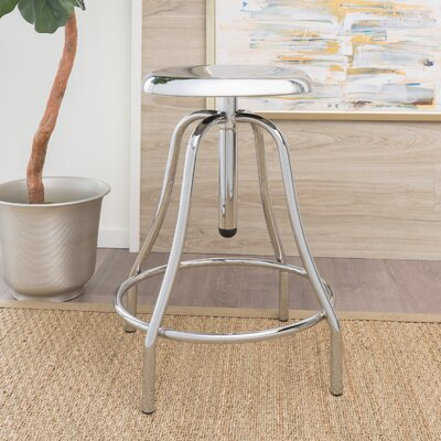 Lisson Adjustable Height Swivel Bar Stool