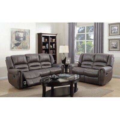 Geralyn 2 Piece Living Room Set