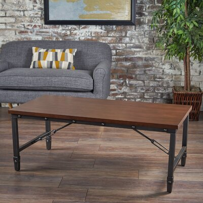 Bertha Wood Coffee Table