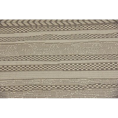 Antoine Gray Outdoor Area Rug Rug Size: Rectangle 53 x 8
