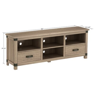 Federico 65 TV Stand with Optional Fireplace