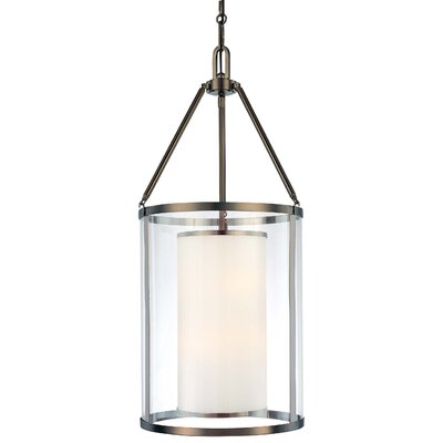 Anissa Foyer 3-Light Pendant Size: 37 H x 17 W x 17 D