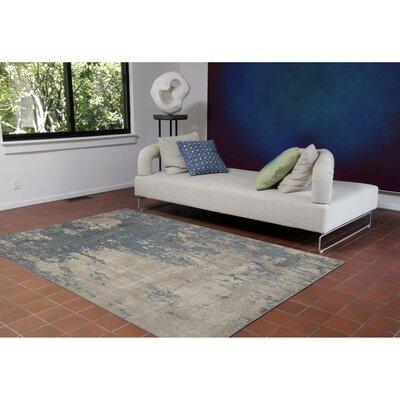 Auburn Gray/Beige Area Rug Rug Size: 33 x 411
