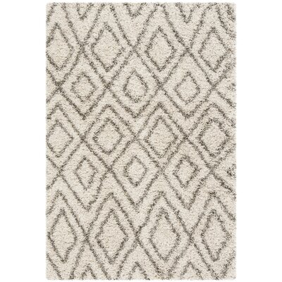 Cammie Ivory Area Rug Rug Size: Rectangle 2 x 3