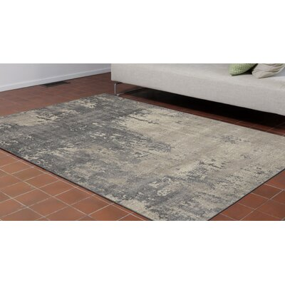 Auburn Gray/Beige Area Rug Rug Size: 710 x 910