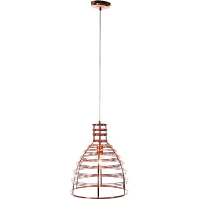 Shane 1-Light Mini Pendant Finish: Copper, Size: 18 H x 13 W x 13 D