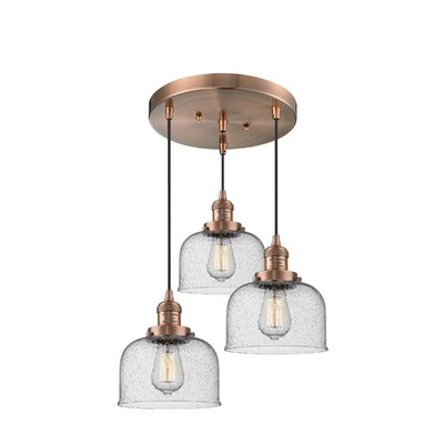 Bousquet 3-Light Cluster Pendant Finish: Antique Copper