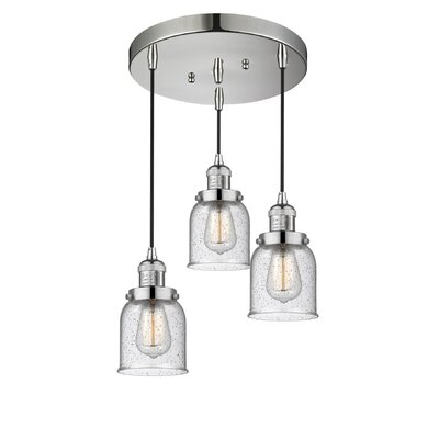 Bourland 3-Light Cluster Pendant Finish: Polished Nickel