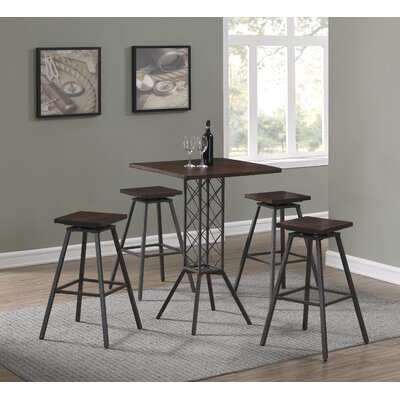 Kimiko 5 Piece Pub Table Set