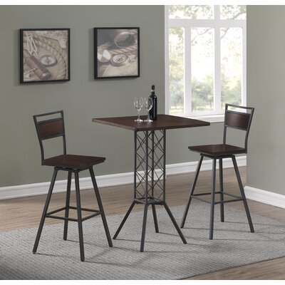 Kimiko 3 Piece Pub Table Set