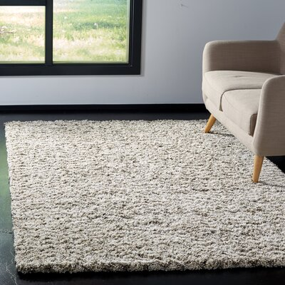Cammie Ivory Area Rug Rug Size: Rectangle 9 x 12