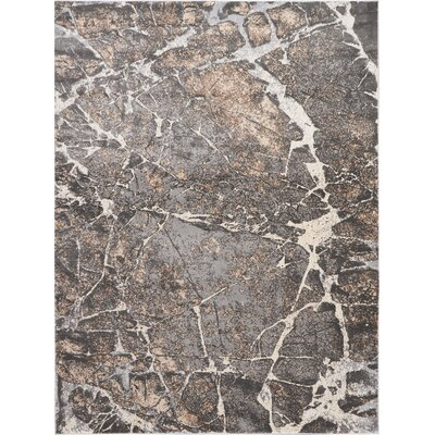 Shirleen Gray Area Rug Rug Size: Rectangle 8 x 105