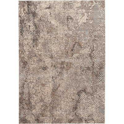 Shirleen Gray Area Rug Rug Size: Rectangle 93 x 129