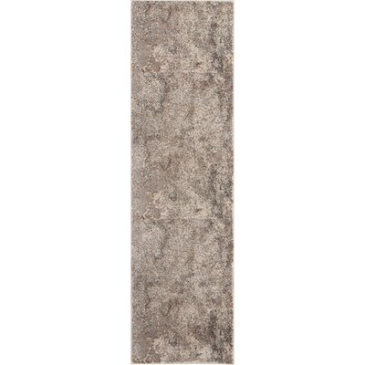 Shirleen Gray Area Rug Rug Size: Runner 22 x 76
