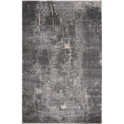 Shirleen Charcoal Area Rug Rug Size: Rectangle 311 x 511