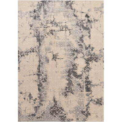 Shirleen Beige Area Rug Rug Size: Rectangle 93 x 129
