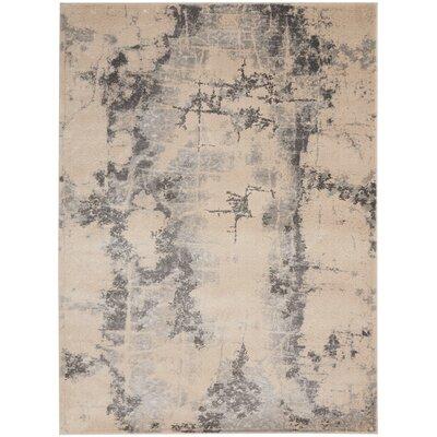 Shirleen Beige Area Rug Rug Size: Rectangle 52 x 73