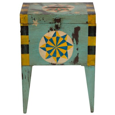 Crestline Pinwheel Ballot Box End Table