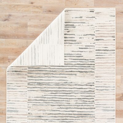 Lizette Ivory Area Rug Rug Size: 76 x 96