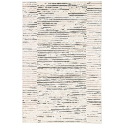 Lizette Ivory Area Rug Rug Size: 9 x 13