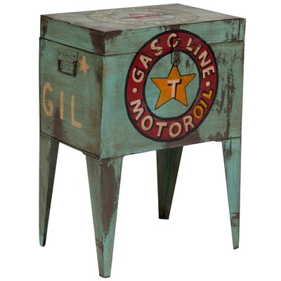 Creswell Motor Ballot Box End Table
