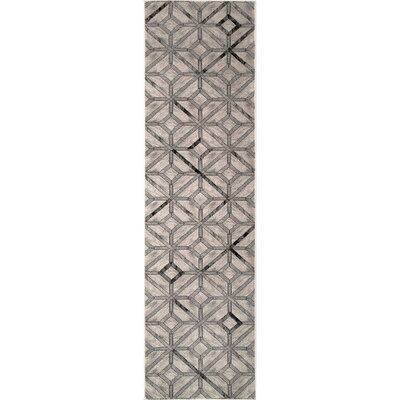 Candlewood Beige Area Rug Rug Size: Runner 25 x 8