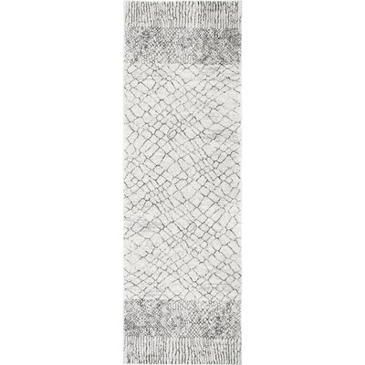 Canchola Light Gray Area Rug Rug Size: Runner 28 x 8