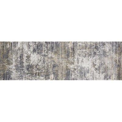 Bourquin Granite/Stone Area Rug Rug Size: Runner 27 x 8